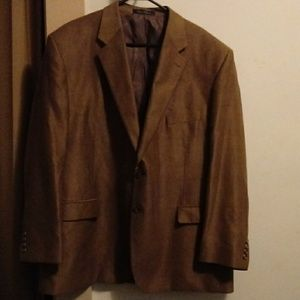 Brown buttery soft Chaps blazer